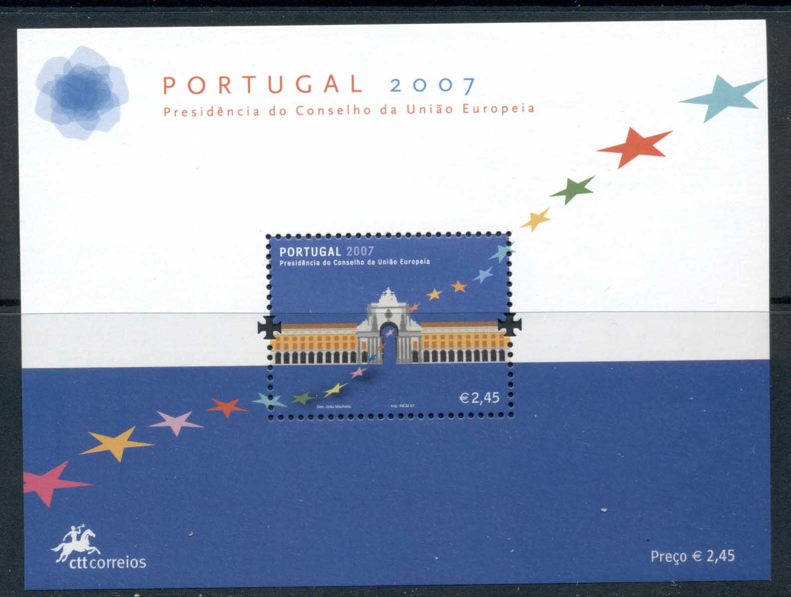 Portugal 2007 Presidency of the Council of Europe MS MUH