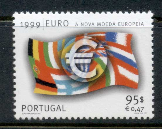 Portugal 1999 Introduction of the Euro MUH