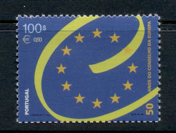 Portugal 1999 Council of Europe MUH