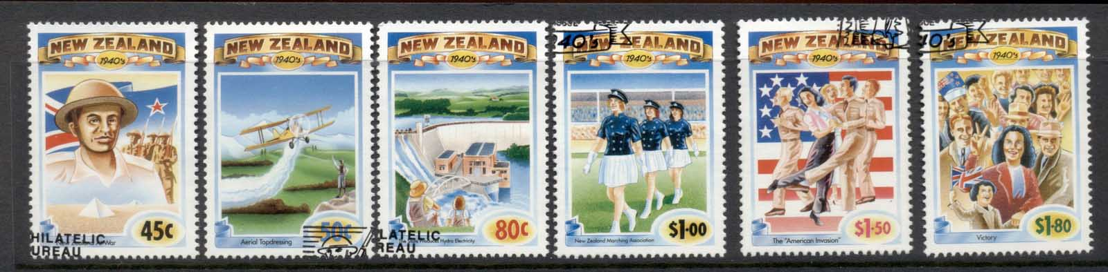 New Zealand 1993 The Emerging Years 1940'5 FU