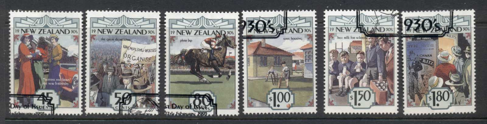 New Zealand 1993 The Emerging Years 1930'5 FU