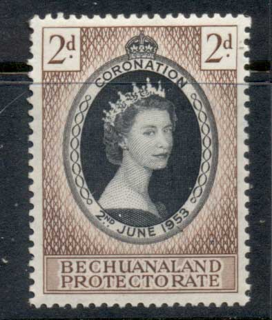 Bechuanaland Protectorate 1953 Coronation MLH