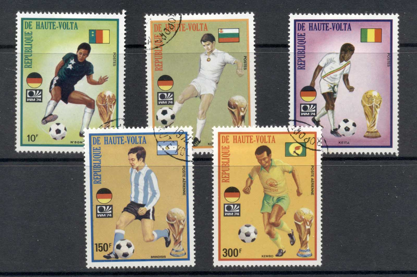Upper Volta 1974 World Cup Soccer Munich II CTO