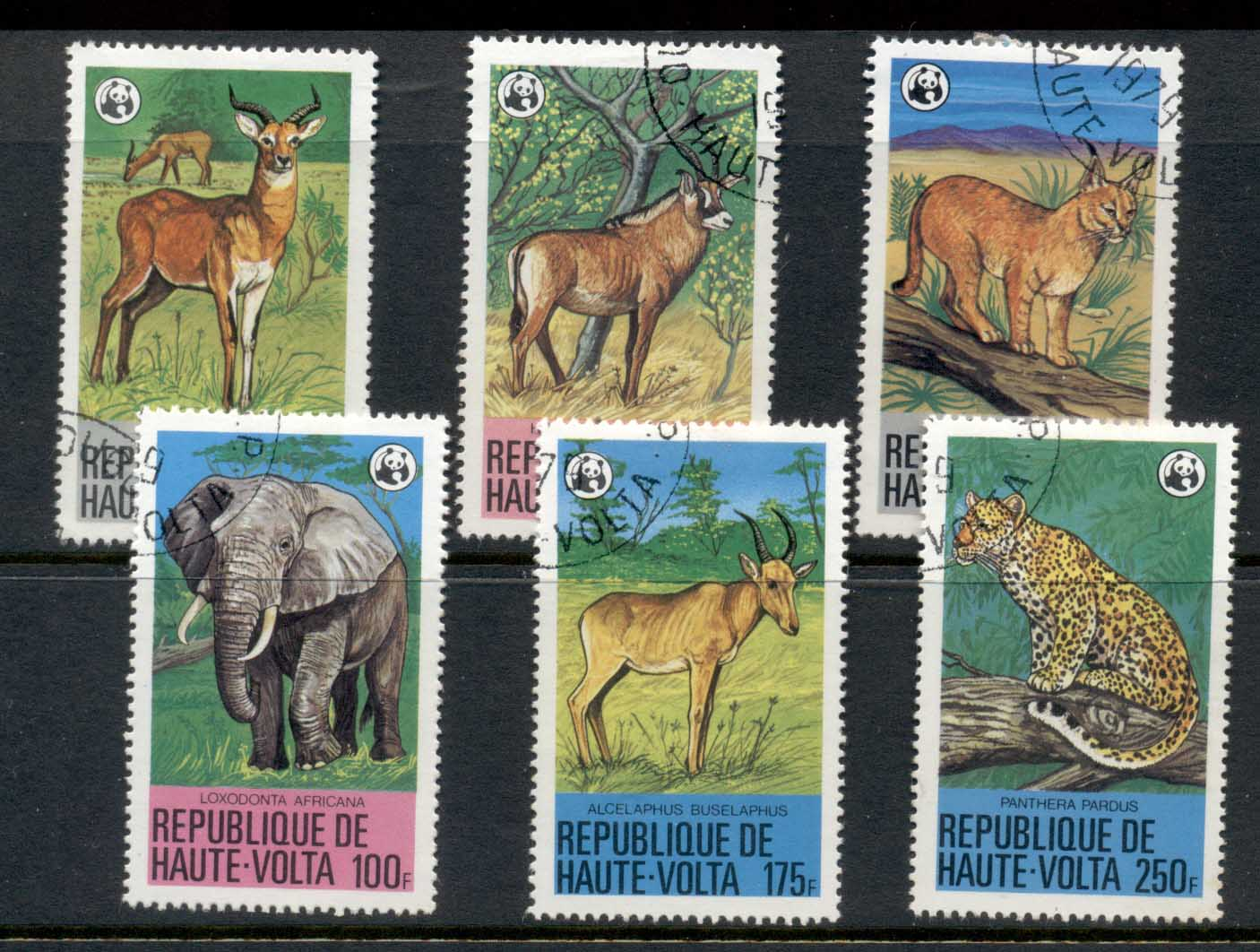Upper Volta 1979 WWF Endangered Wildlife CTO