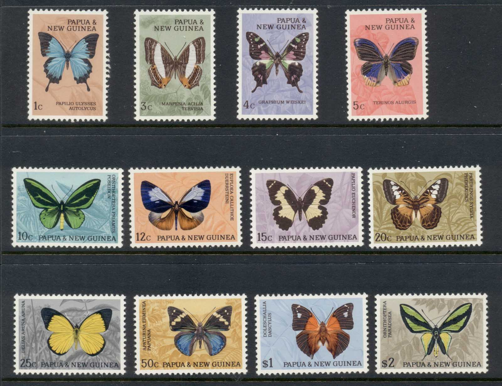 PNG 1966 Insects Butterflies MLH