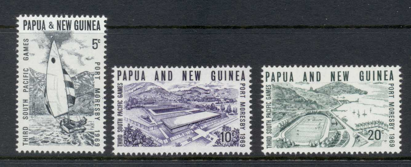 PNG 1969 South Pacific Games MLH