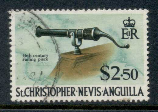 St Christopher Nevis Anguilla 1970 Pictorial $2.50 FU