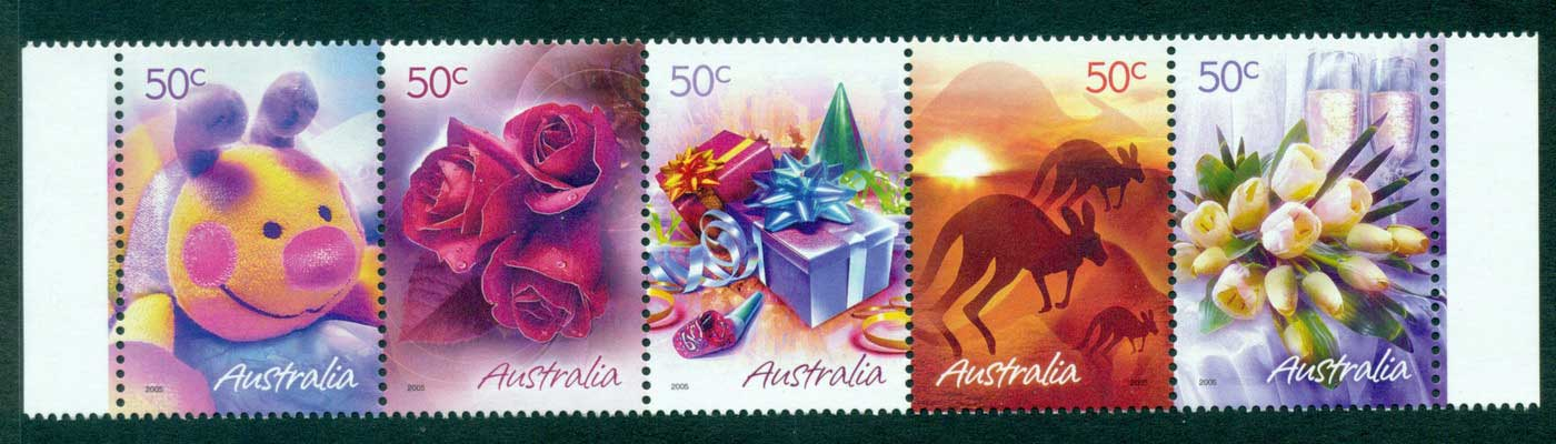 Australia 2005 Marking the Occasion Str MUH Lot29811