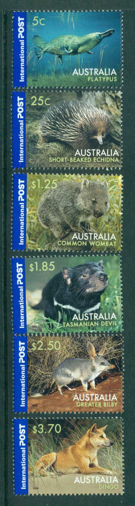 Australia 2006 Australian Wildlife Internationals MUH Lot29823
