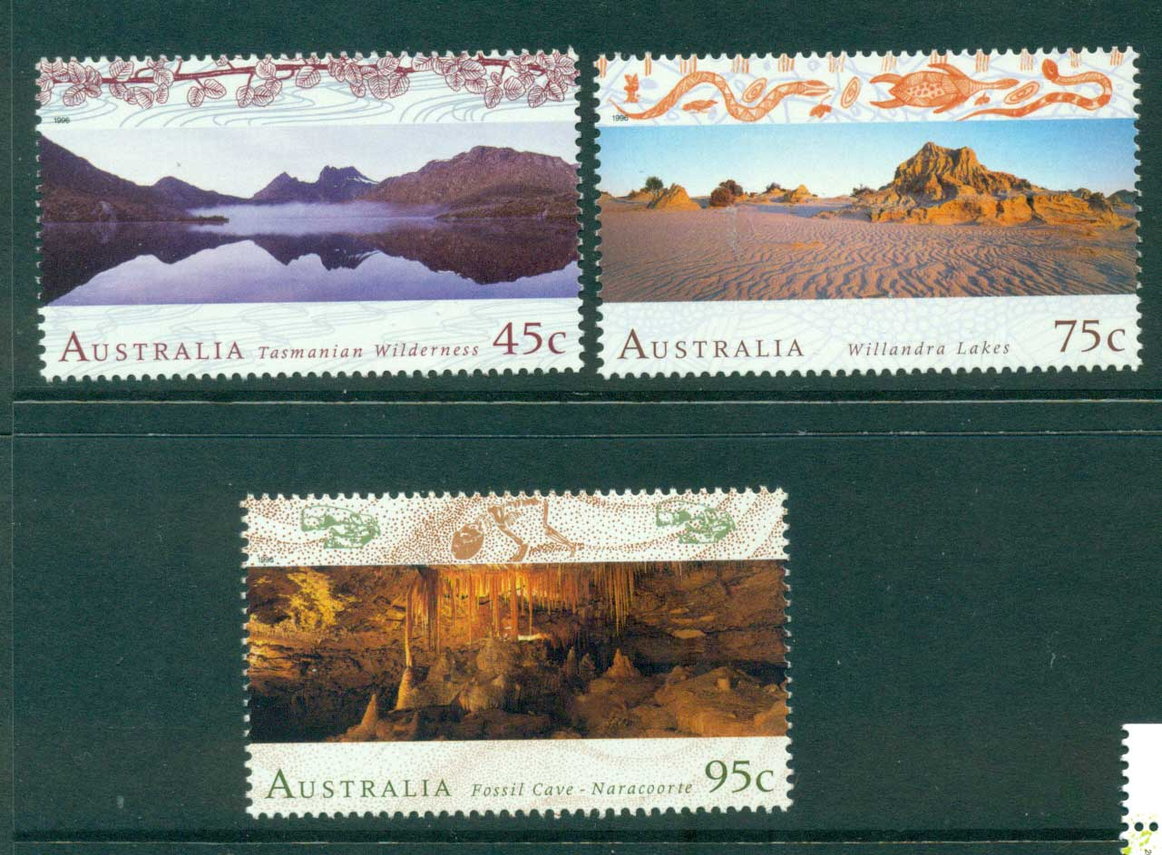 Australia 1996 Scenic Views MUH Lot29917