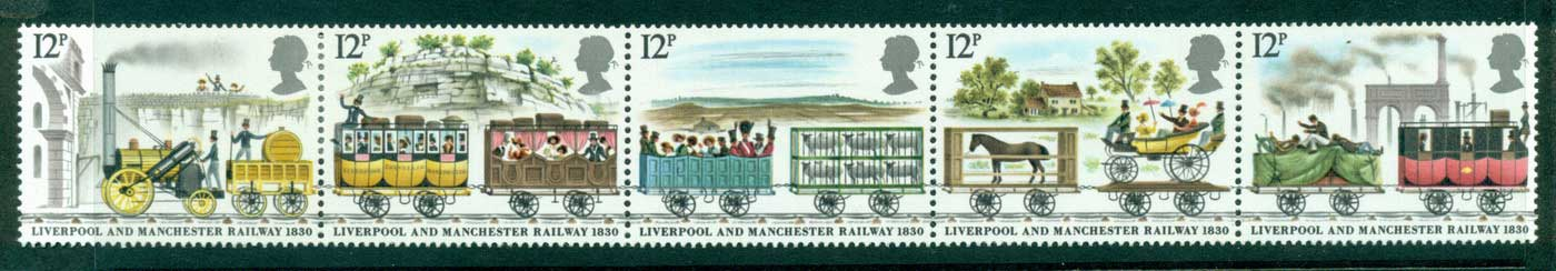 GB 1980 Liverpool-Manchester Railroad Str MLH Lot29968