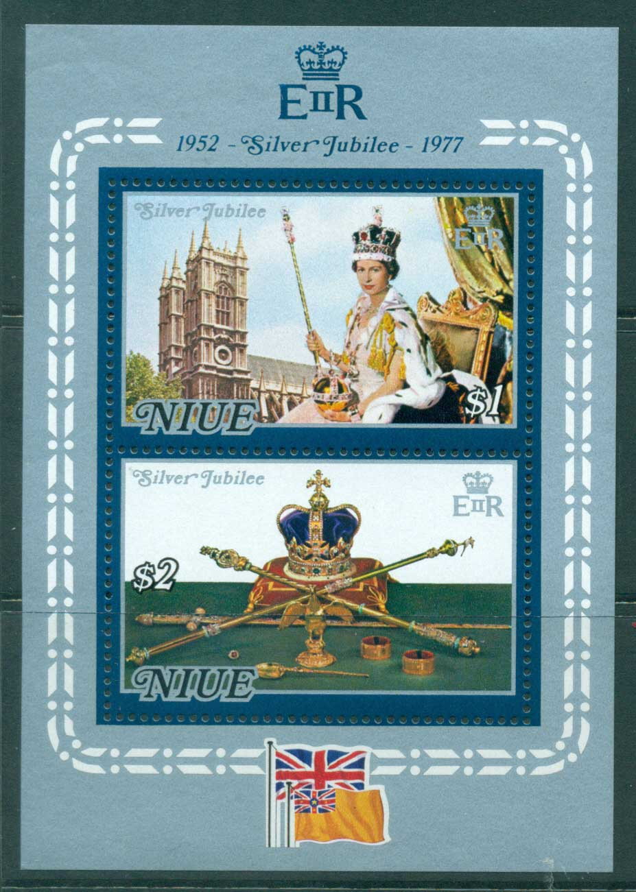 Niue 1977 Silver Jubilee MS MUH Lot30050