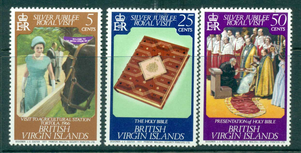 Virgin Is 1977 Royal Visit MUH Lot30198