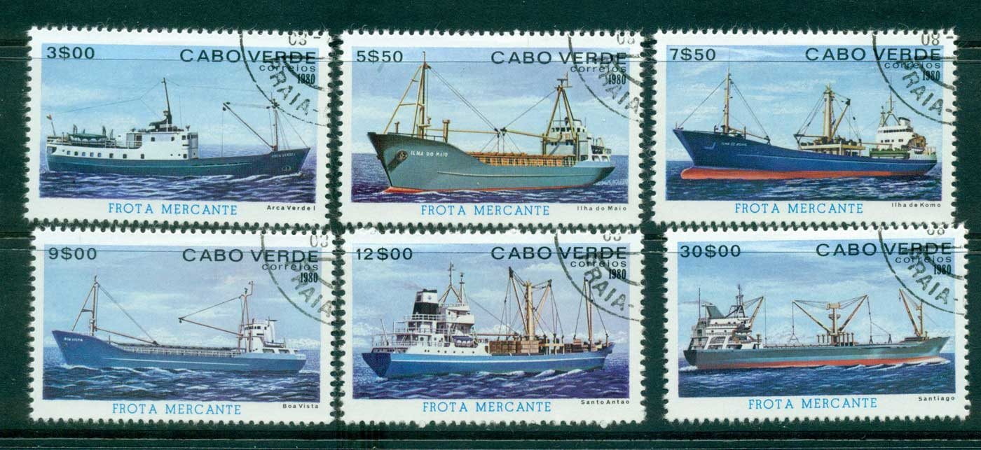 Cape Verde 1980 Ships CTO lot31453