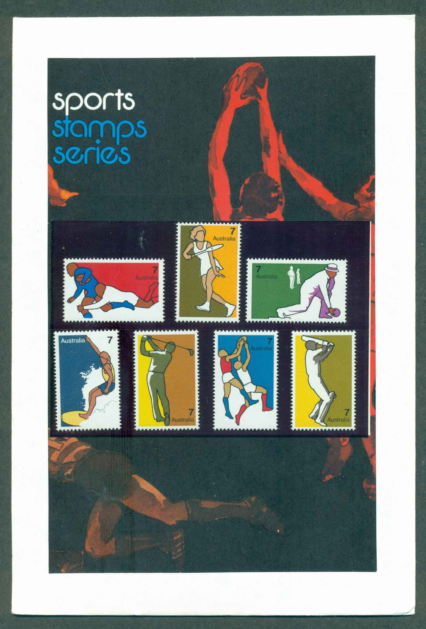 Australia 1974 Non Olympic Sports POP lot32176 - Click Image to Close