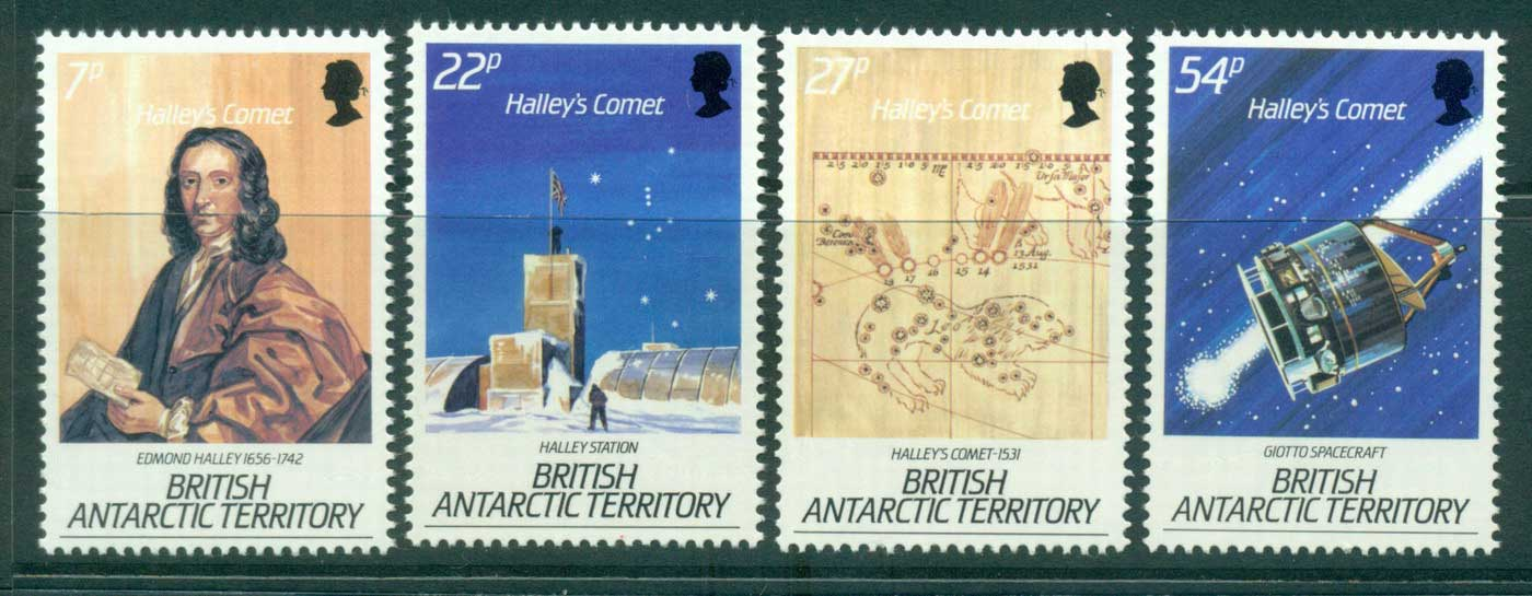 BAT 1986 Halley's Comet MUH lot32631