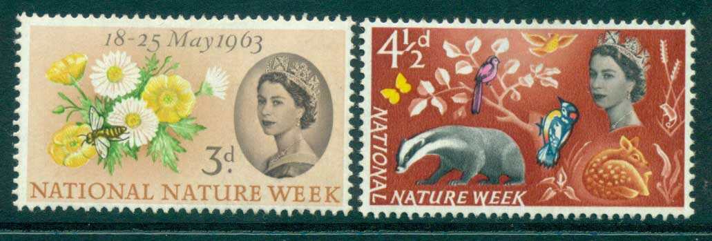 GB 1963 Nature Week MLH lot32782
