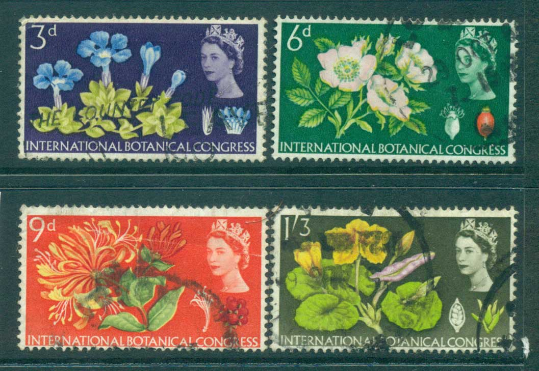 GB 1964 Botanical Conference MLH lot32795