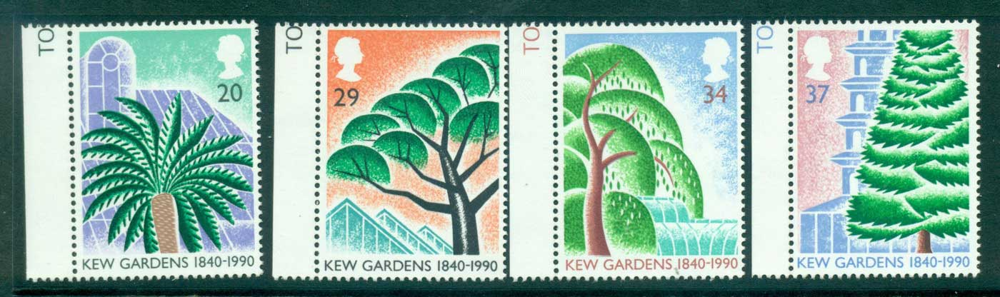 GB 1990 Kew gardens MUH lot32986