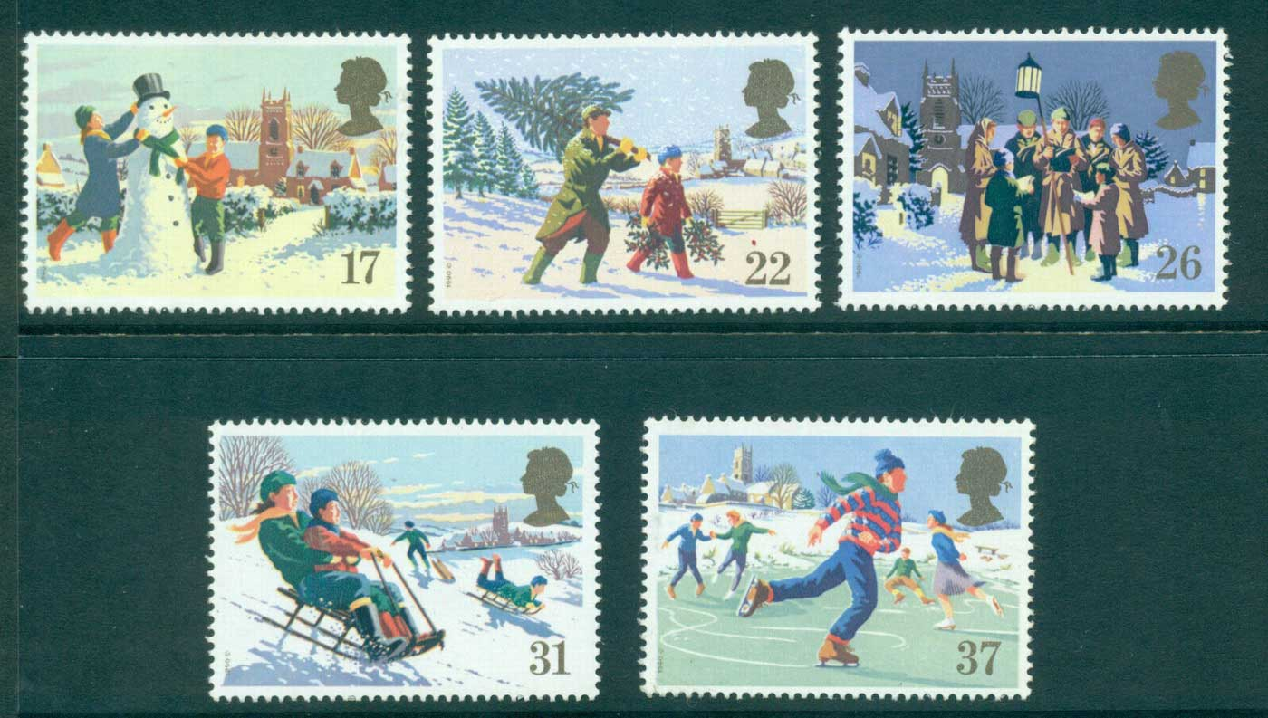 GB 1990 Xmas MUH lot32991