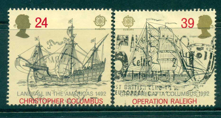 GB 1992 Discovery of America FU lot33009