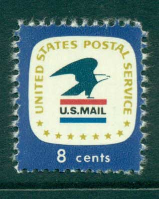 USA 1972-78 Sc#1396 8c USPS Emblem MUH lot33270