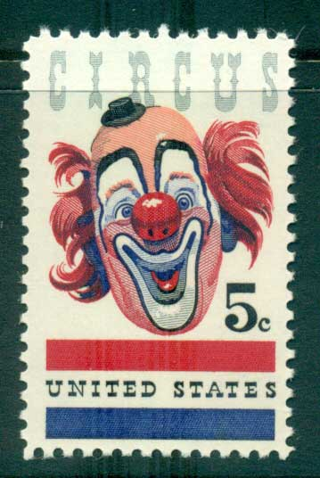 USA 1966 Sc#1309 American Circus MUH lot33342