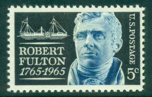 USA 1965 Sc#1270 Robert Fulton MUH lot33375