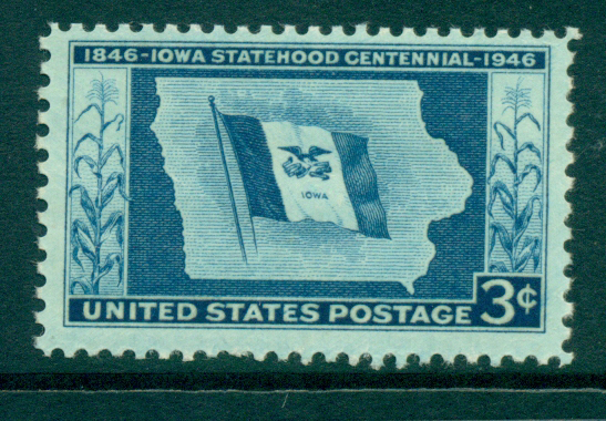 USA 1946 Sc#942 Iowa Statehood MUH lot33445
