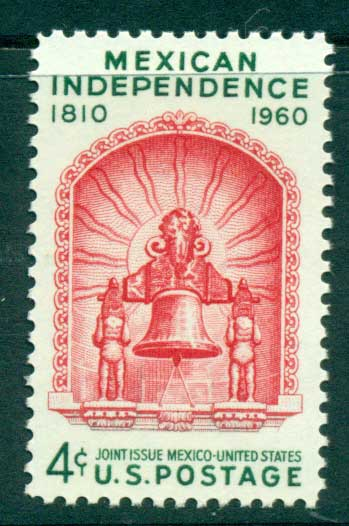 USA 1960 Sc#1157 Mexican Independence MUH lot33516