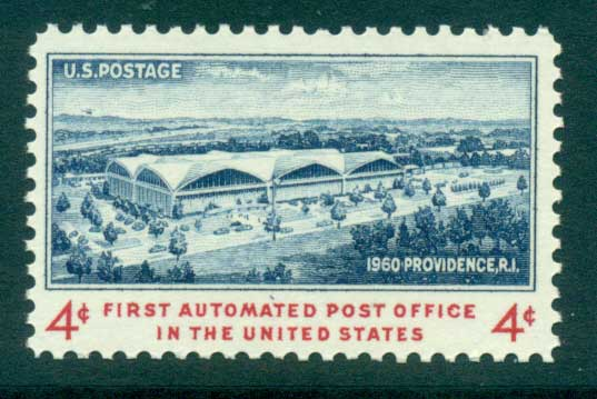 USA 1960 Sc#1164 First Automated Post Office MUH lot33524