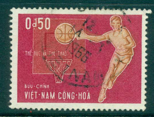 Vietnam South 1965 50c Javelin FU lot33813
