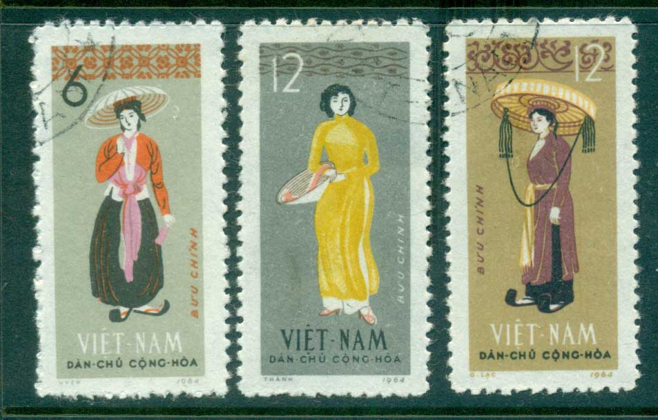 Vietnam North 1964 Costumes FU lot33857