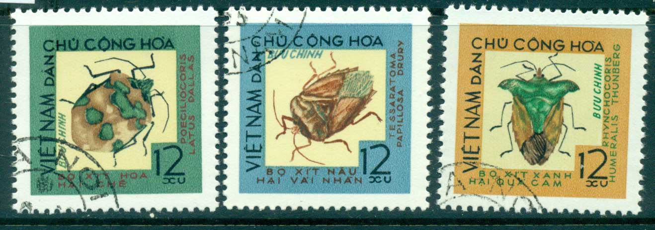 Vietnam North 1965 Beetles Part I FU lot33866