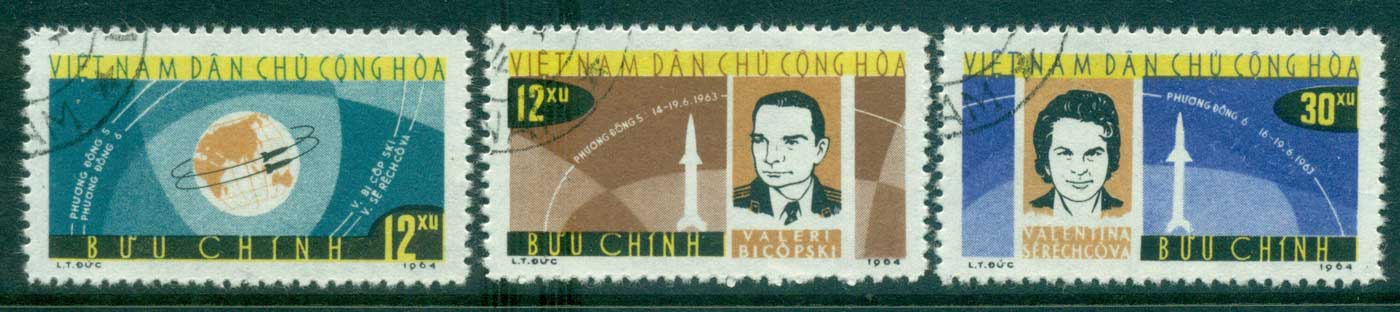 Vietnam North 1964 Vostok Flights FU lot33932