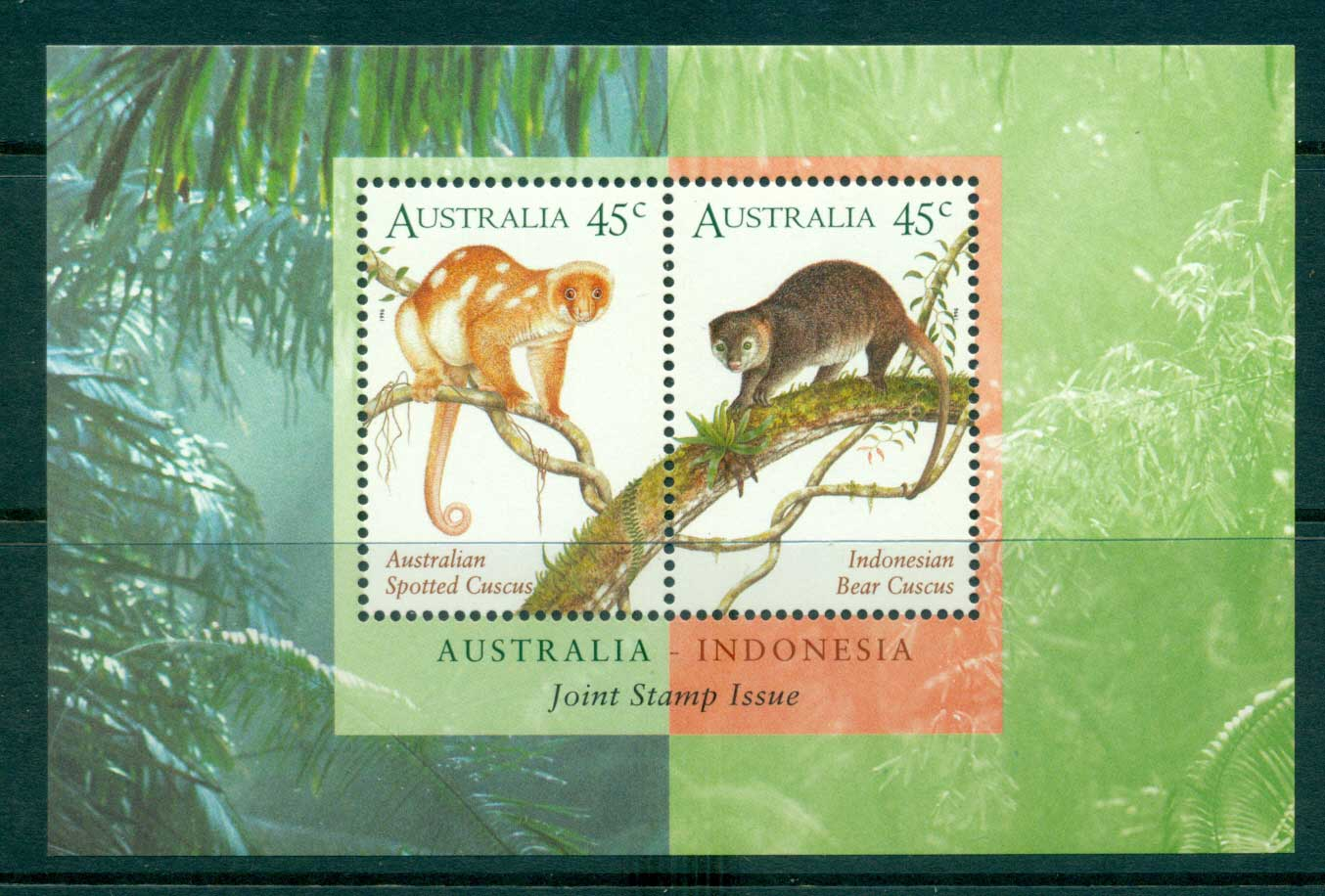 Australia 1996 Cuscusses MS MUH lot34109