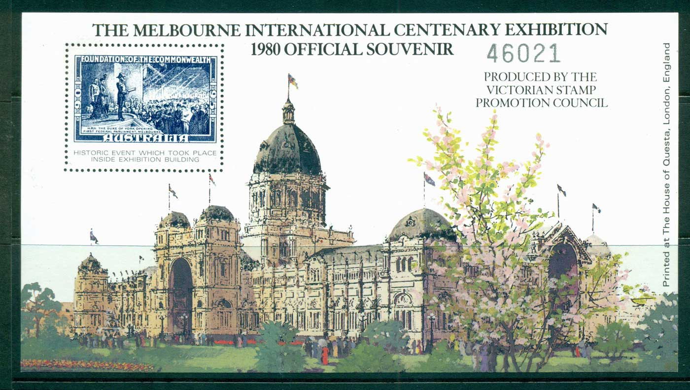 Australia 1980 Melbourne International Centenary Exhibition MS MUH lot34286