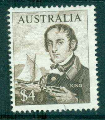 Australia 1966 $4 Navigator King FU lot34595