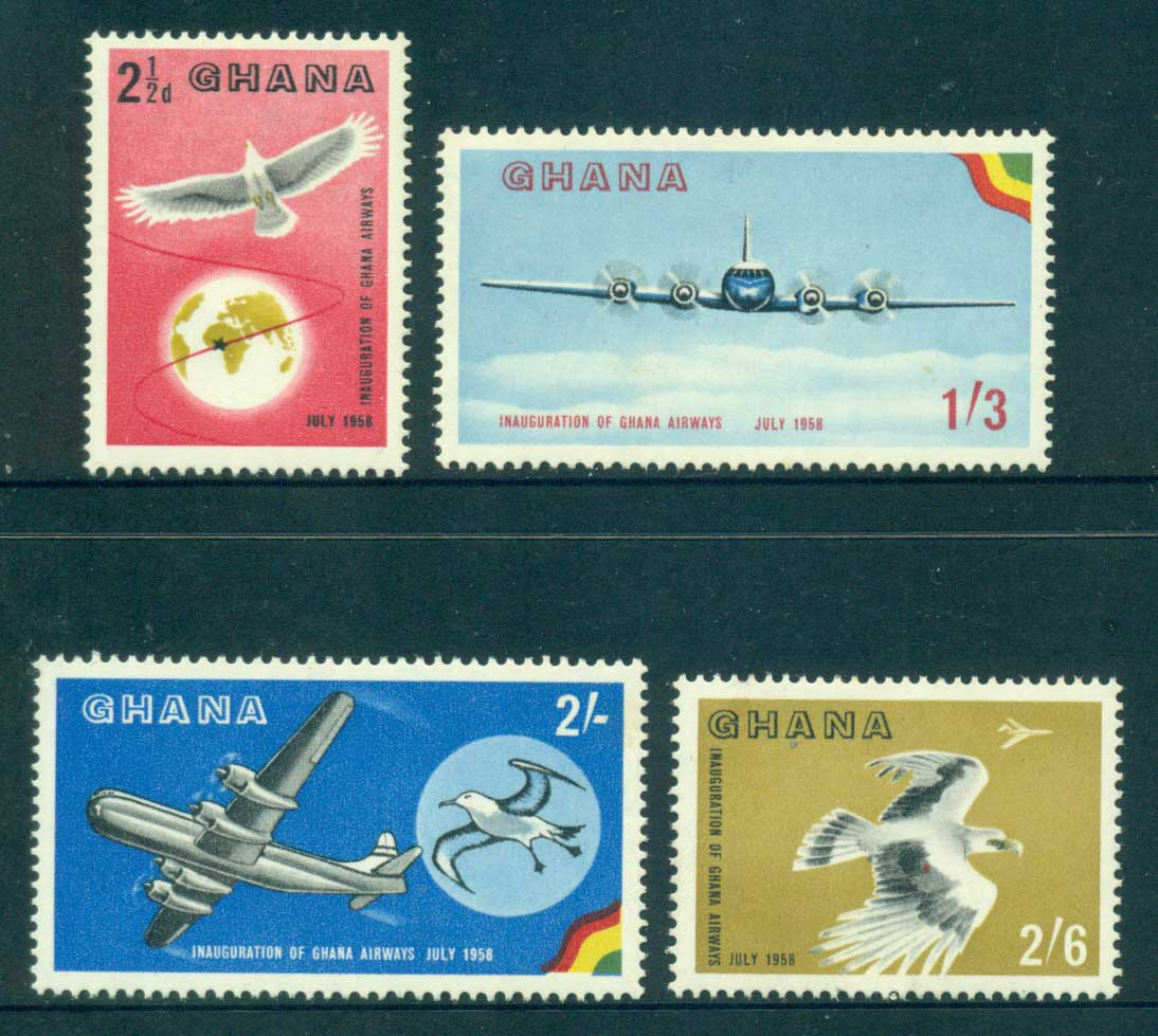 Ghana 1958 Ghana Airways MLH lot34802