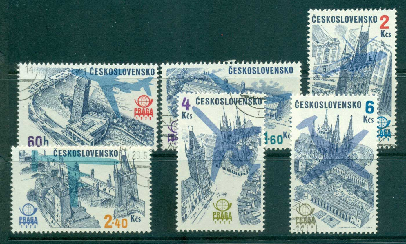 Czechoslovakia 1976 PRAGA Stamp Exhibition CTO lot35090 - Click Image to Close