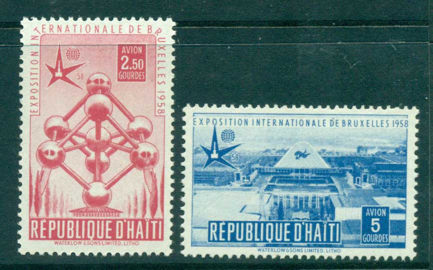 Haiti 1958 Brussels Fair MUH lot35473