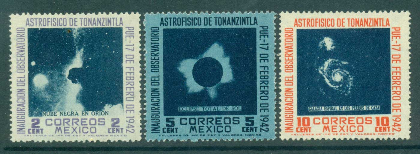Mexico 1942 Astrophysics Congress MLH lot35918