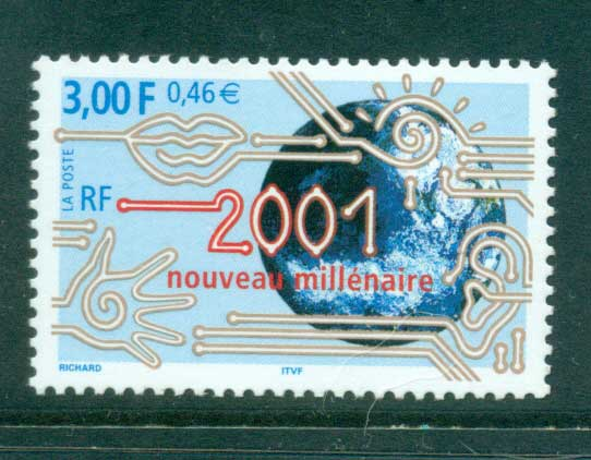 France 2000 New Millenium MUH lot36082