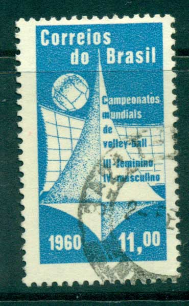 Brazil 1960 Volleyball Championships FU lot36457