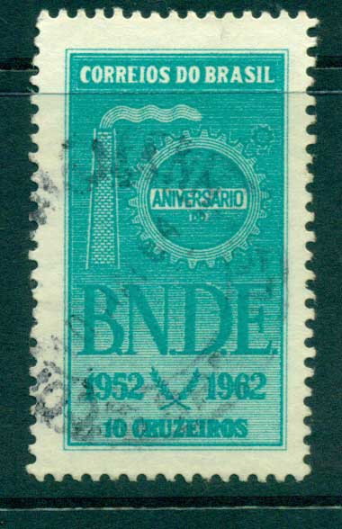 Brazil 1962 Economic & Development Bank FU lot36482