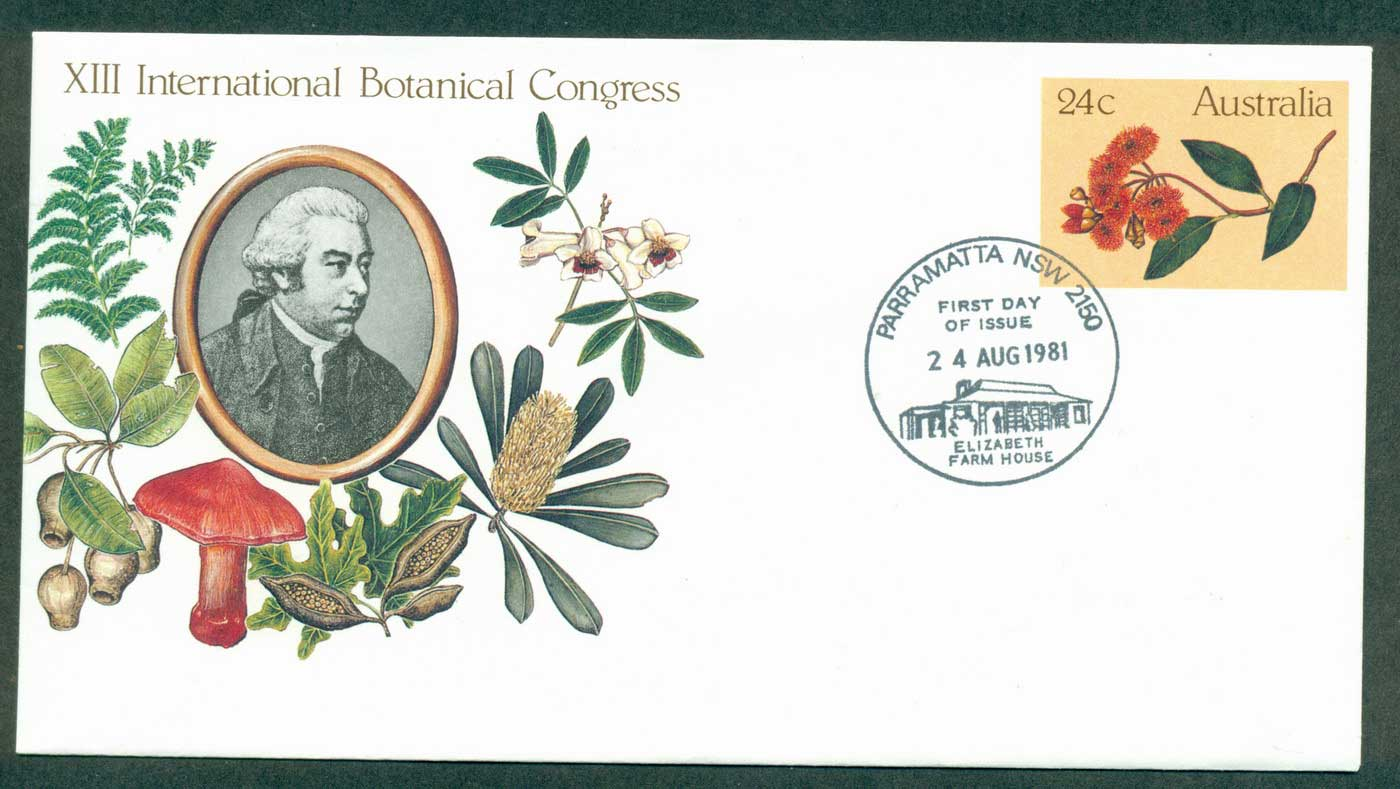 Australia 1981 Botanical Congress PSE Paramatta FDI lot37015
