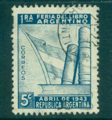 Argentina 1943 Book Fair FU lot37151