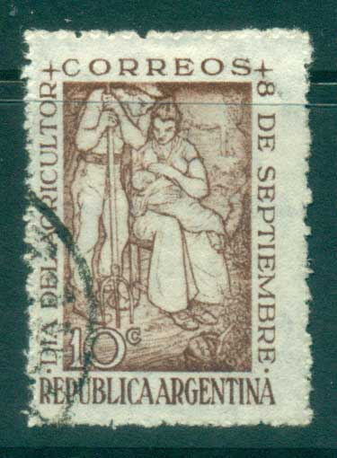 Argentina 1948 Agriculture Day FU lot37185