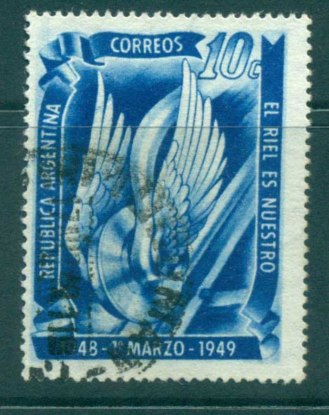 Argentina 1948 Railroad Nationalisation FU lot37187