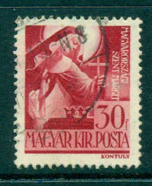 Hungary 1943 St. Margaret FU lot37509